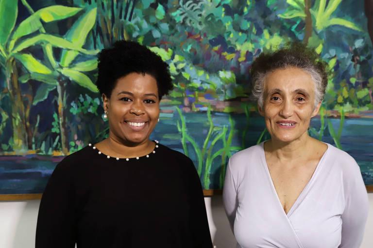 Pesquisadoras Jaqueline de Jesus e Ester Sabino - do Instituto de Medicina Tropical da USP